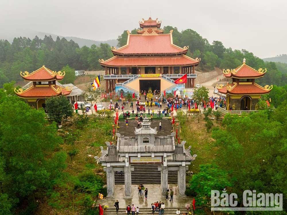 Yen Dung  district, creates highlight, cultural-spiritual tourism development, Bac Giang province, cultural heritage, spiritual life