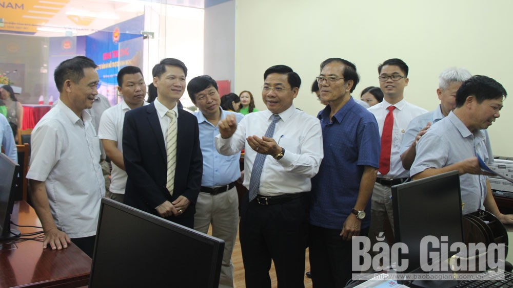 cải cách hành chính, Chủ tịch UBND tỉnh Bắc Giang Dương Văn Thái