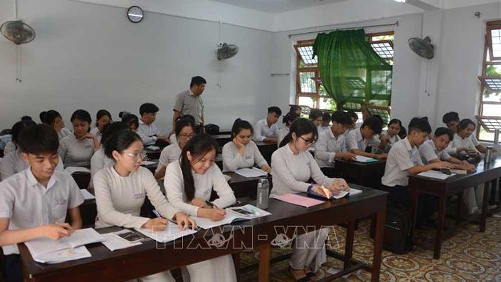 Phân định rõ trách nhiệm thanh tra, kiểm tra thi tốt nghiệp THPT 2020