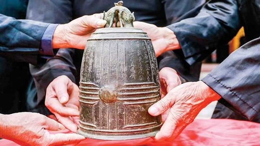 Hanoi's millennium-old bell named national treasure