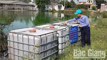 Mô hình tận dụng nước thải tưới tiết kiệm cho cây ăn quả