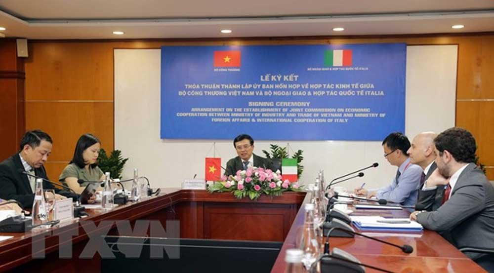 New Joint Commission, Vietnam-Italy, Economic Cooperation, bilateral economic, trade coordination, economic growth