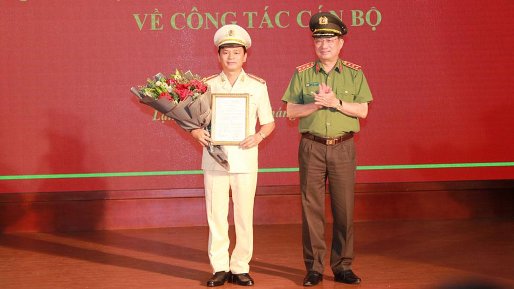 Bổ nhiệm Đại tá Thái Hồng Công giữ chức Giám đốc Công an tỉnh Lạng Sơn