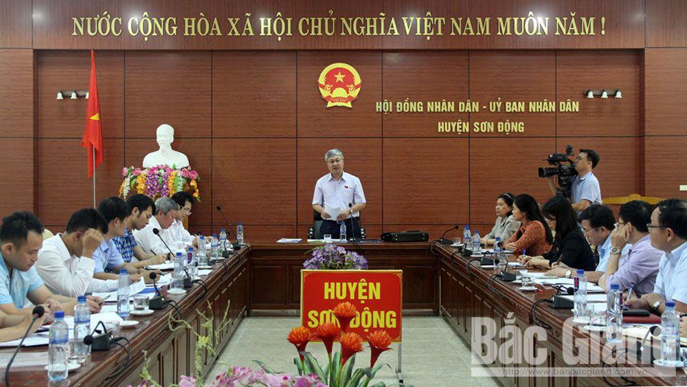 Huyện Sơn Động cần chuẩn bị tốt các điều kiện đổi mới chương trình sách giáo khoa giáo dục phổ thông
