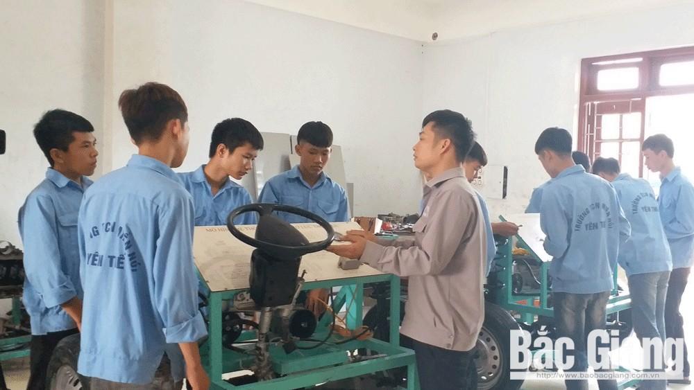 Trường Trung cấp Nghề miền núi Yên Thế duy trì chất lượng đào tạo nghề