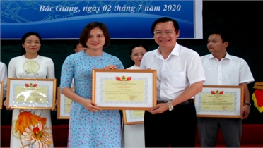 Công đoàn Viên chức tỉnh Bắc Giang tuyên dương 67 điển hình tiên tiến