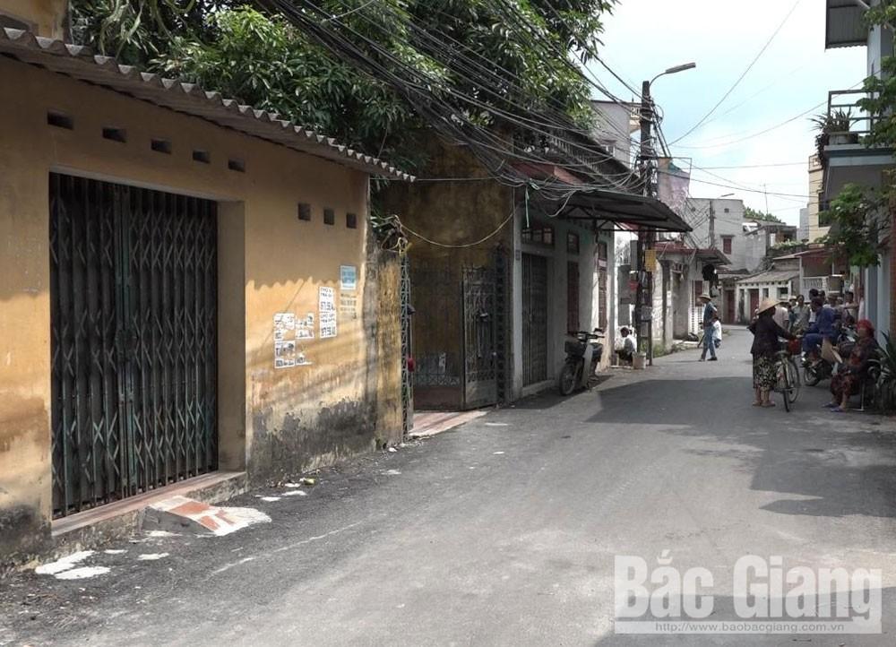 tắc cống, Mỹ Cầu, Tân Mỹ, TP Bắc Giang