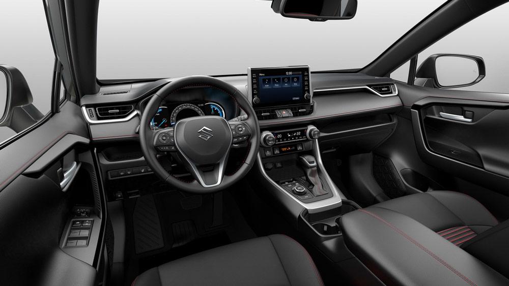 Suzuki, Honda CR-V, Mazda CX-5, Nissan X-Trail (Rouge).Suzuki Across, Xe hybrid