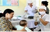 Trẻ dưới 7 tuổi được tiêm vaccine phòng bạch hầu miễn phí