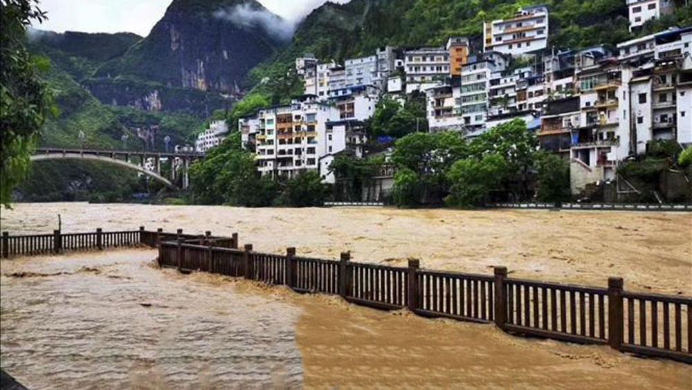 Cảnh báo Xanh,mưa lũ,mưa lũ tại Trung Quốc