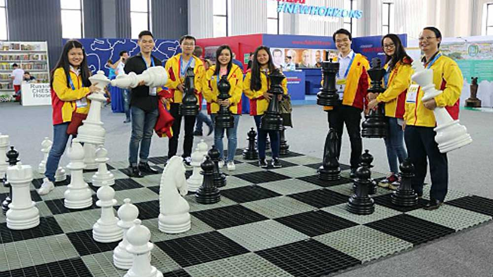 Vietnam, Online Chess Olympiad, Grandmaster Le Quang Liem, International Chess Federation, top men's player, rapid format