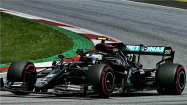 Bottas giành pole ở Grand Prix Áo