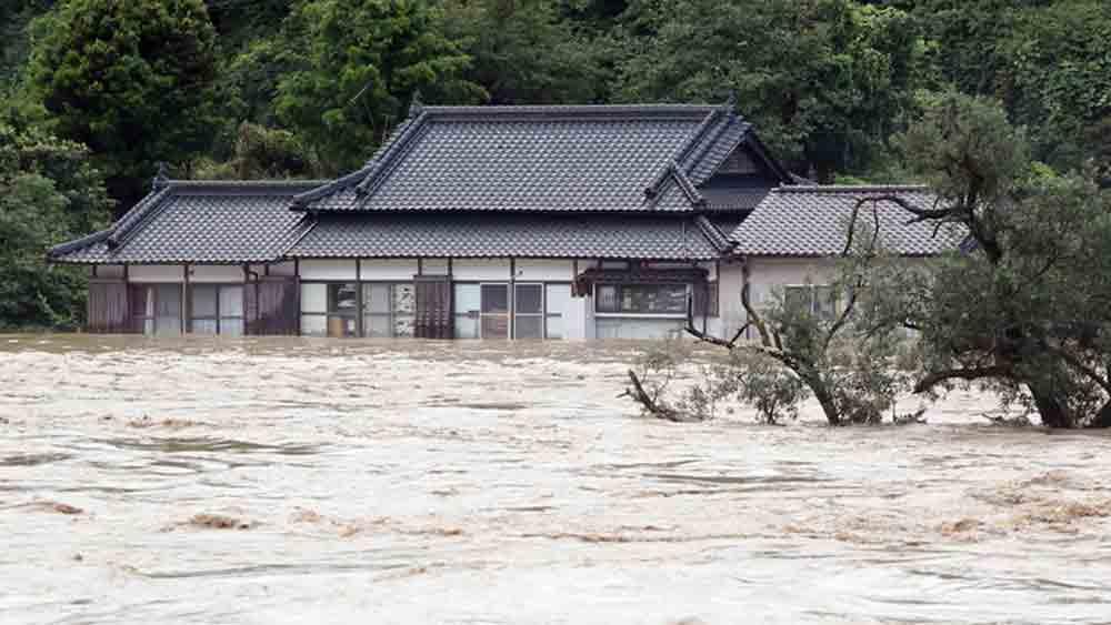 14 người chết, mưa lũ, lũ lụt ở Nhật, lũ lụt Nhật Bản 2020