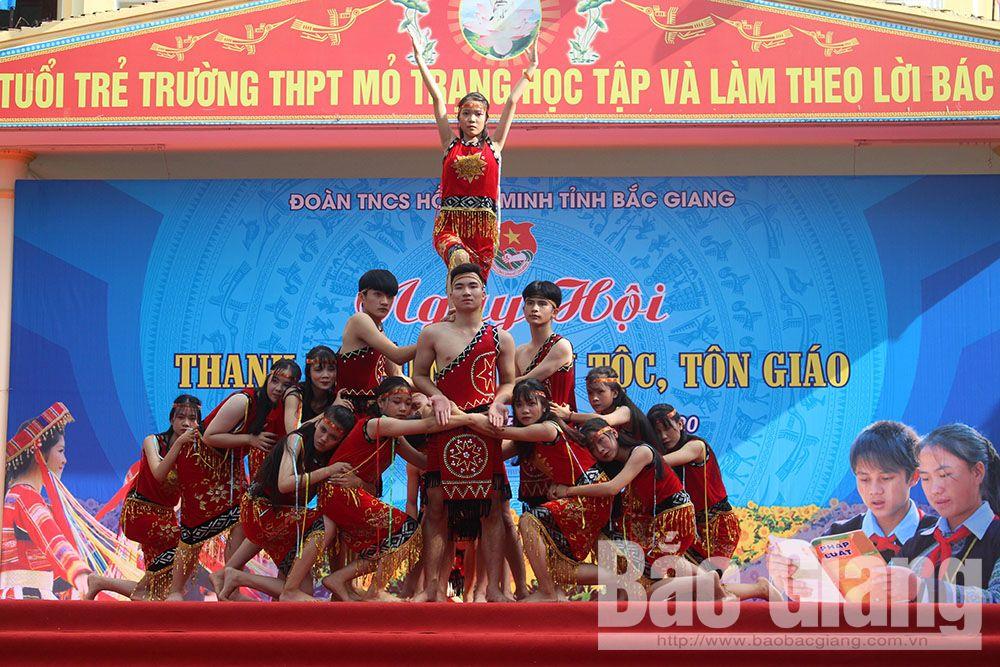 Bắc Giang, tuổi trẻ Bắc Giang, ngày hội thanh niên, thiếu nhi dân tộc, tôn giáo