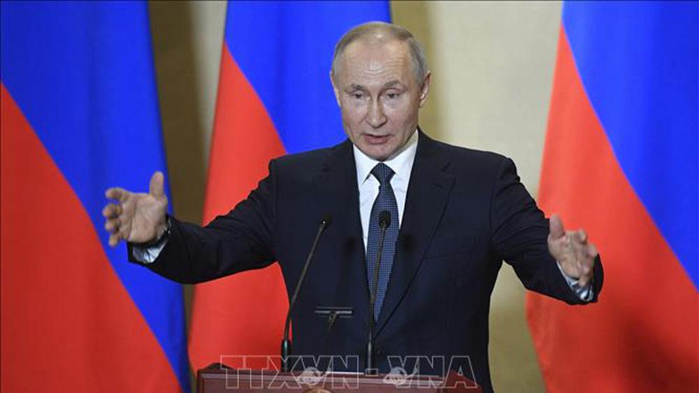 Tổng thống Putin ca ngợi sửa đổi hiến pháp là đúng đắn với nước Nga