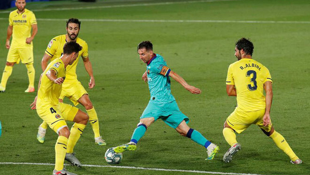 Video: Villarreal 1-4 Barca