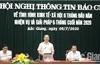 """Nhiều câu hỏi """"nóng"""" tại hội nghị thông tin báo chí về tình hình KT-XH 6 tháng đầu năm"""