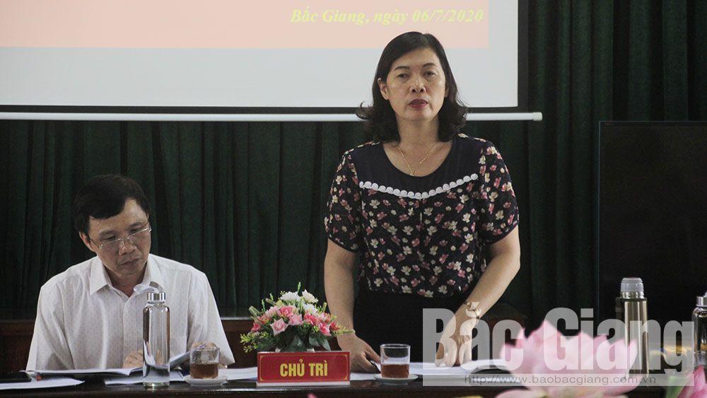 Bắc Giang, tổ chức chính trị - xã hội