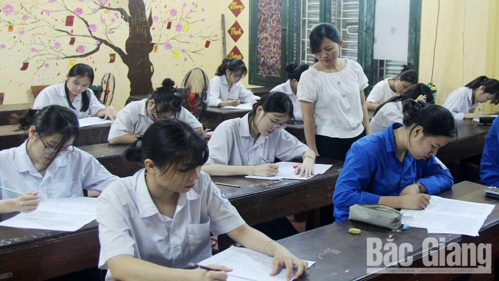 """Chuẩn bị thi tốt nghiệp THPT năm 2020: Bắc Giang """"chạy""""nước rút"""