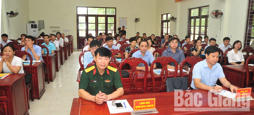Bộ CHQS Bắc Giang, Trung đoàn 831, giáo dục, quốc phòng, an ninh