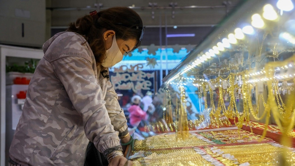 Giá vàng tăng tiếp lên 50,3 triệu một lượng