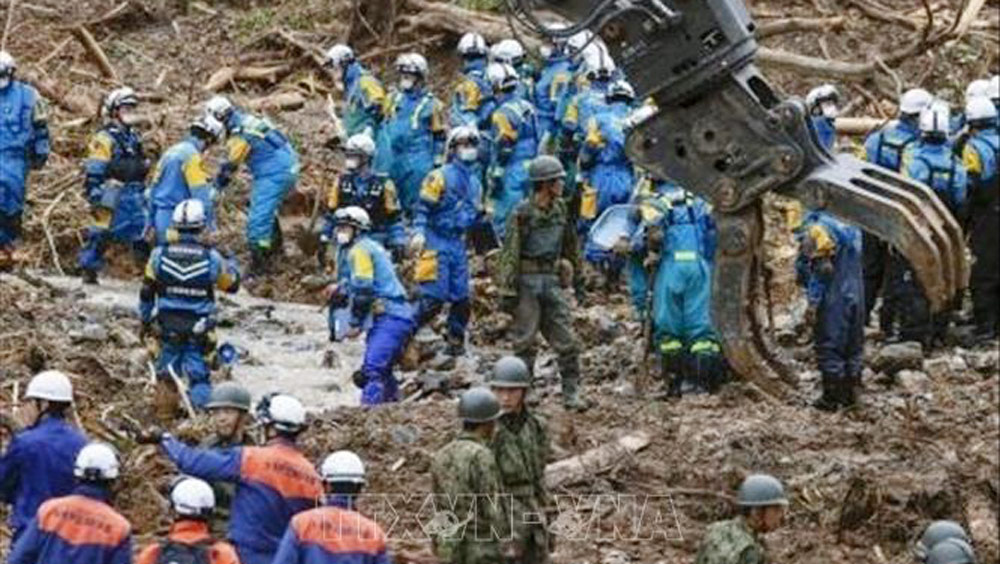Nhật Bản,cứu hộ,hỗ trợ,thiệt hại do mưa lũ,mưa lũ ở Nhật Bản