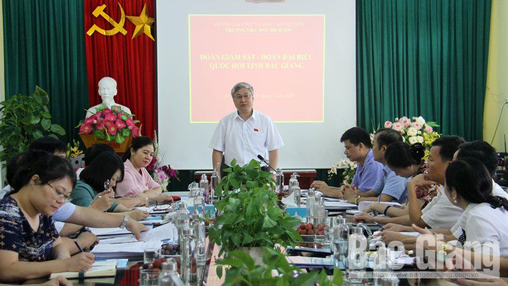 Việt Yên cần chuẩn bị tốt các điều kiện đổi mới chương trình sách giáo khoa giáo dục phổ thông