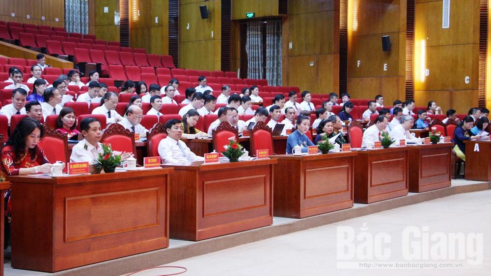 Khai mạc kỳ họp thứ 10 HĐND tỉnh Bắc Giang khóa XVIII