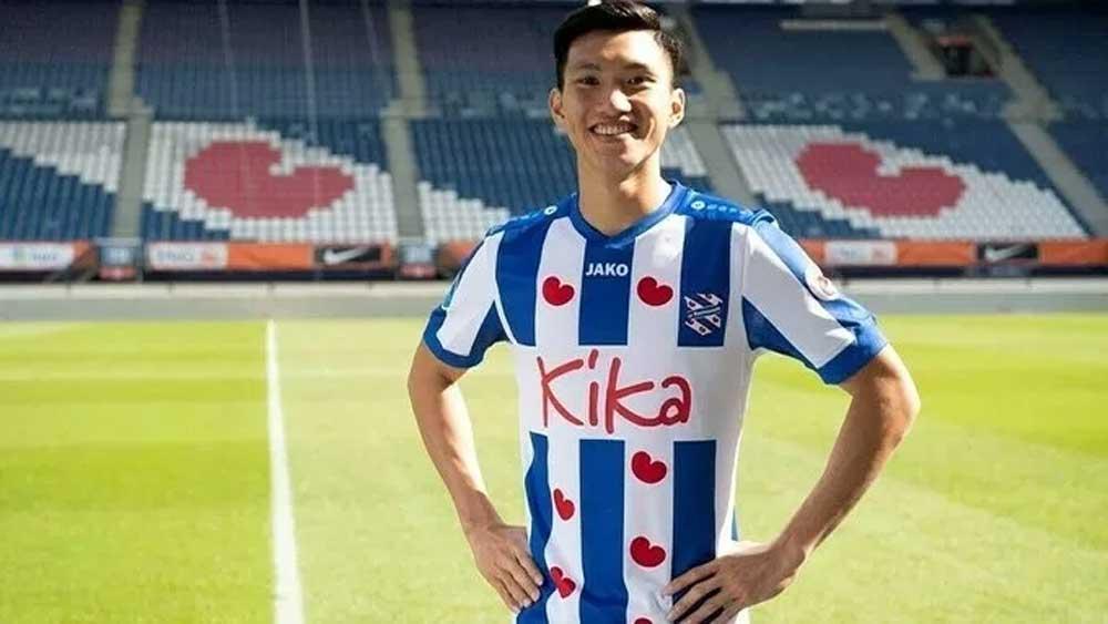 Hanoi FC, pay for Hau, stay at SC Heerenveen, Doan Van Hau, Vietnamese national team player, Covid-19 pandemic, Dutch team