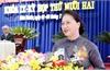 Chủ tịch Quốc hội Nguyễn Thị Kim Ngân dự kỳ họp thứ 12, Hội đồng nhân dân tỉnh Bình Phước