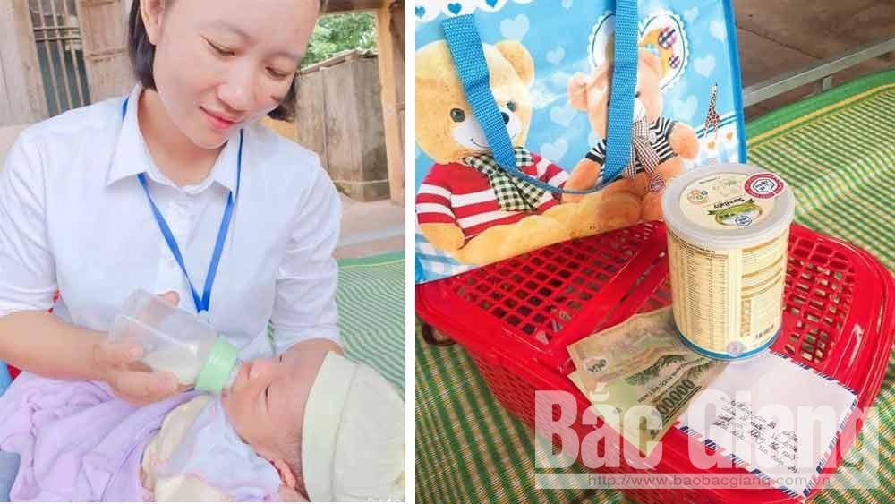 Lục Ngạn: Bé sơ sinh bị bỏ rơi trước cửa nhà người dân