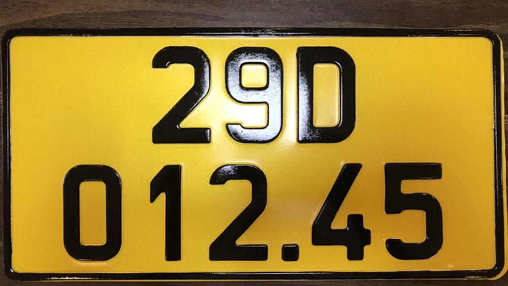 6 triệu, kinh doanh, ô tô, Bộ Công an, Cục CSGT, đăng ký xe, vận tải, biển số xe