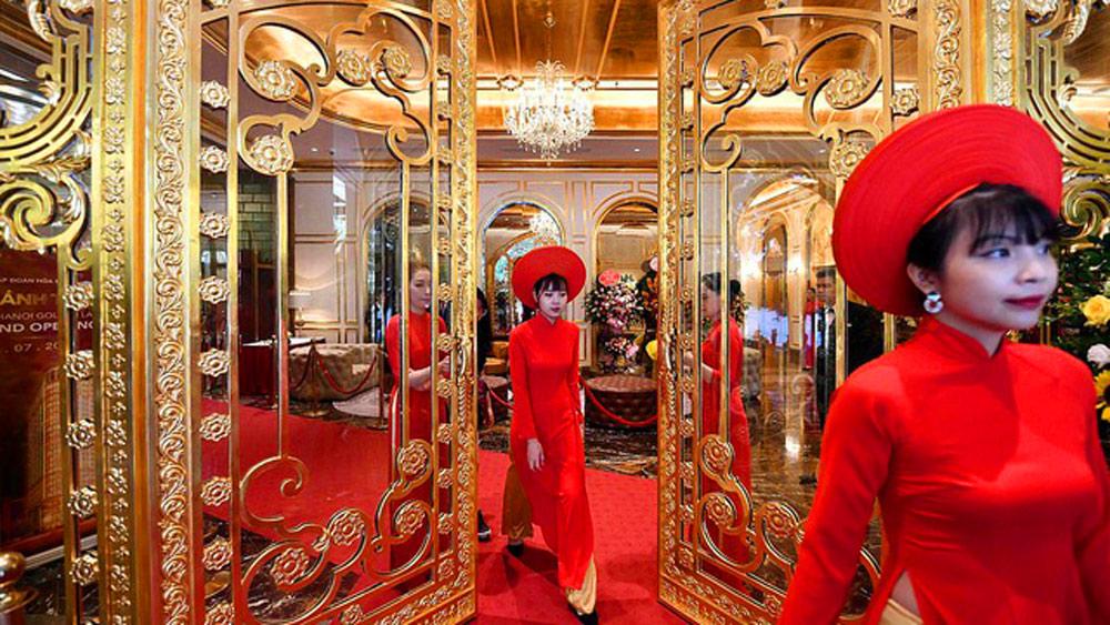 Việt Nam tươi đẹp, kiến trúc nội thất, báo quốc tế