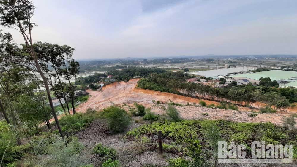 Khai thác đất tại núi Khống: Cần tuân thủ quy định