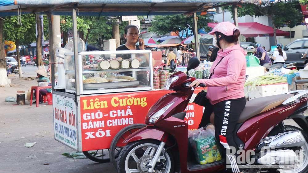 TP Bắc Giang: Bảo đảm an toàn thức ăn đường phố
