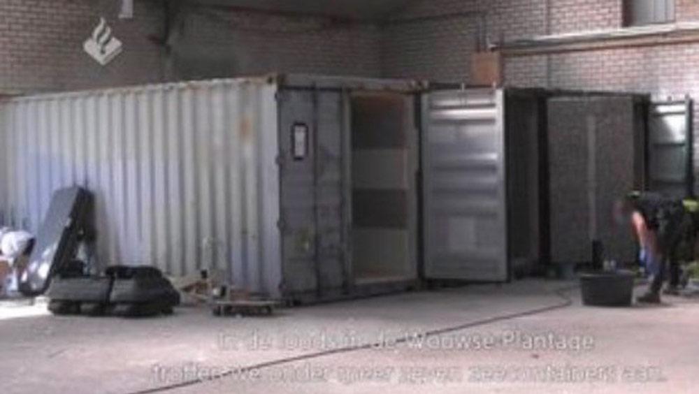 Sự thật khủng khiếp trong những chiếc container bị Cảnh sát Hà Lan thu giữ