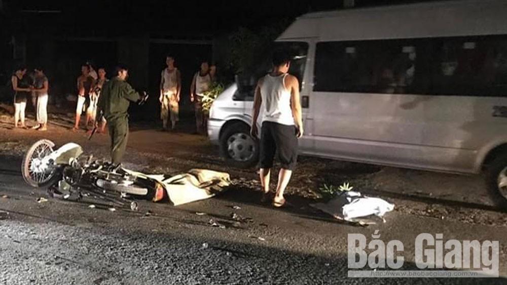 Bắc Giang: Ba mô tô va chạm, 3 người thương vong