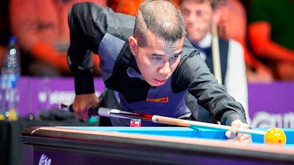 Vietnam, top cueist, virtual carom tournament, Tran Quyet Chien, world elite carom billiards players, UMB Virtual OneCarom Challenge, online competition