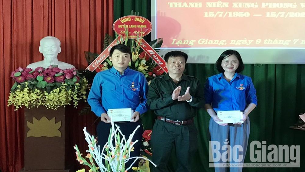 Lạng Giang: Kỷ niệm 70 năm ngày truyền thống lực lượng thanh niên xung phong