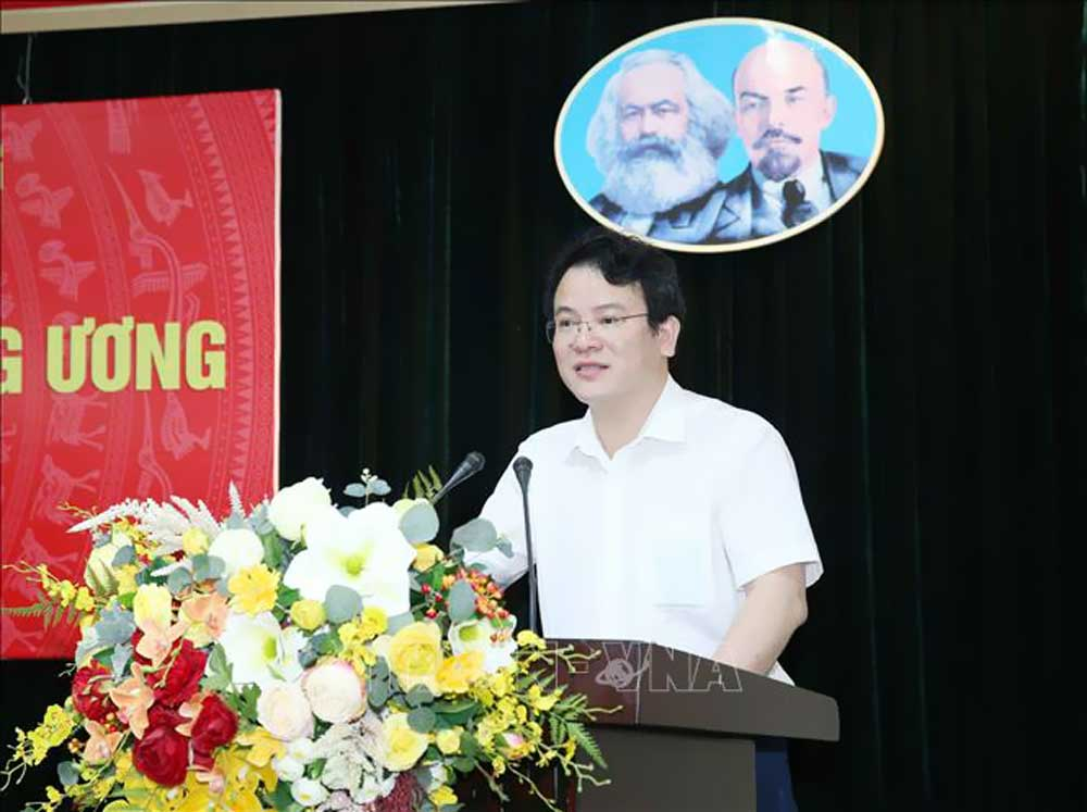 Đại hội Đảng cấp cơ sở,báo cáo viên,Ban Tuyên giáo Trung ương