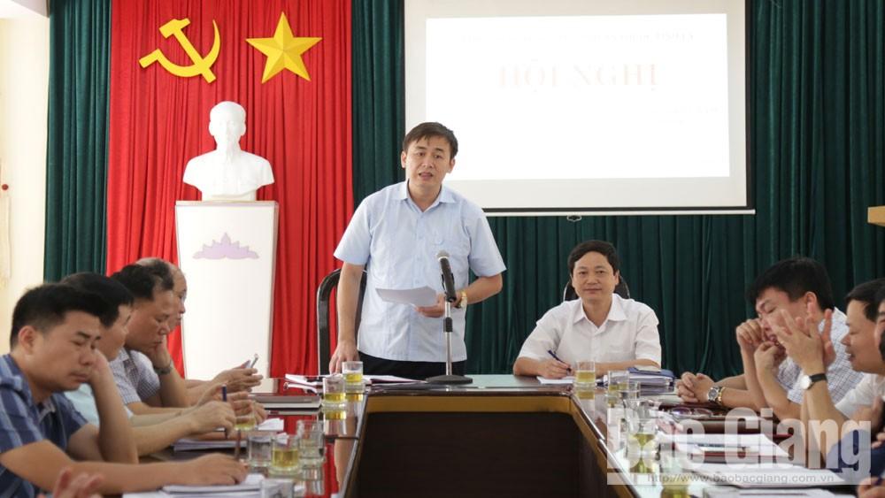 Bắc Giang, khối thi đua, cơ quan thuộc Tỉnh ủy, triển khai nhiệm vụ