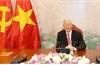 Tổng Bí thư, Chủ tịch nước Nguyễn Phú Trọng điện đàm với Chủ tịch Đảng CPP, Thủ tướng Campuchia Hun Xen