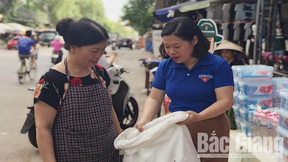 Tình nguyện, màu xanh, quê hương, Bắc Giang