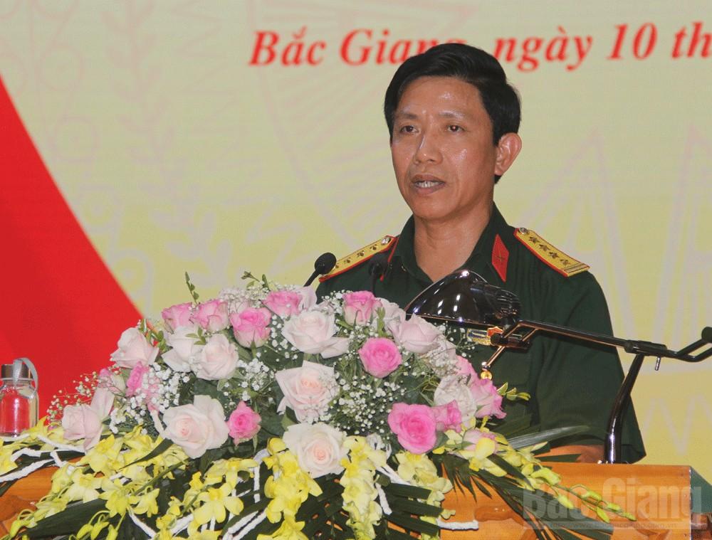 Bắc Giang, Quân đoàn 2, sơ kết 6 tháng đầu năm 2020, Trung tướng Lê Huy Vịnh, Thiếu tướng Đỗ Xuân Tụng