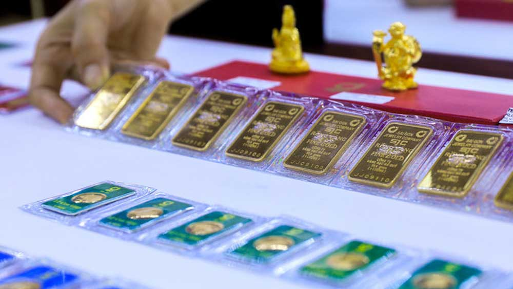 Gold  price, new peak in Vietnam, run up, Covid-19 pandemic, weakening dollar, largest jewelry company, global economic recovery