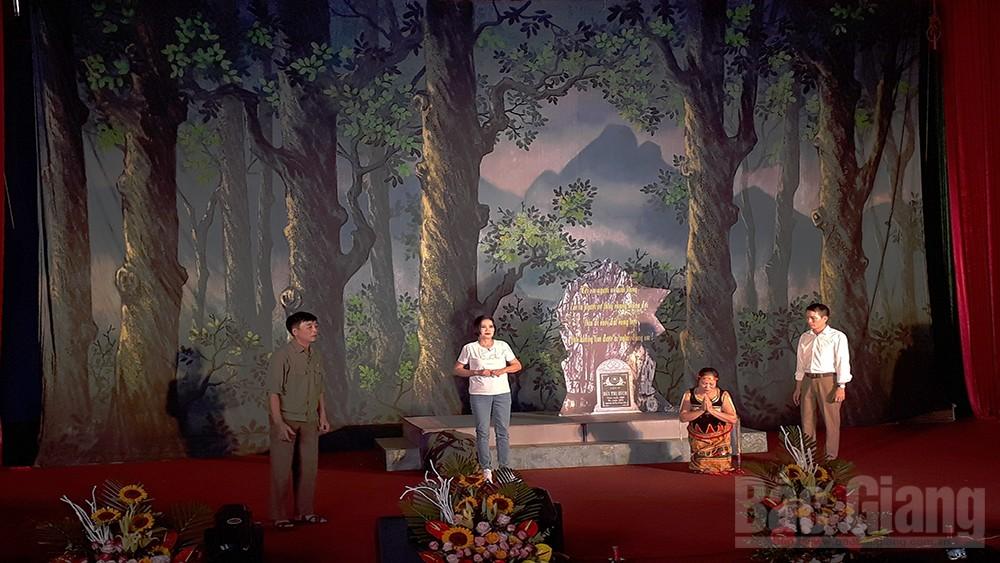 Hội diễn nghệ thuật sân khấu không chuyên tỉnh Bắc Giang năm 2020