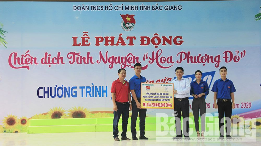 Bac Giang launches Red Flamboyant Volunteer Campaign