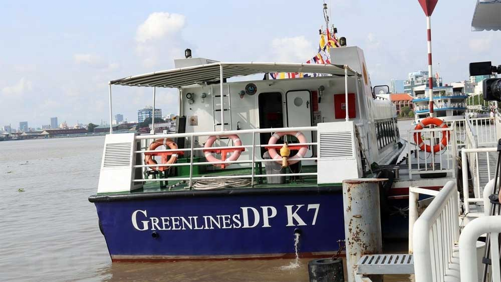 Ho Chi Minh City, first waterway tourism route, GreenlinesDP, inland waterway tourism, passenger transportation route, Covid-19 pandemic, high-speed boats