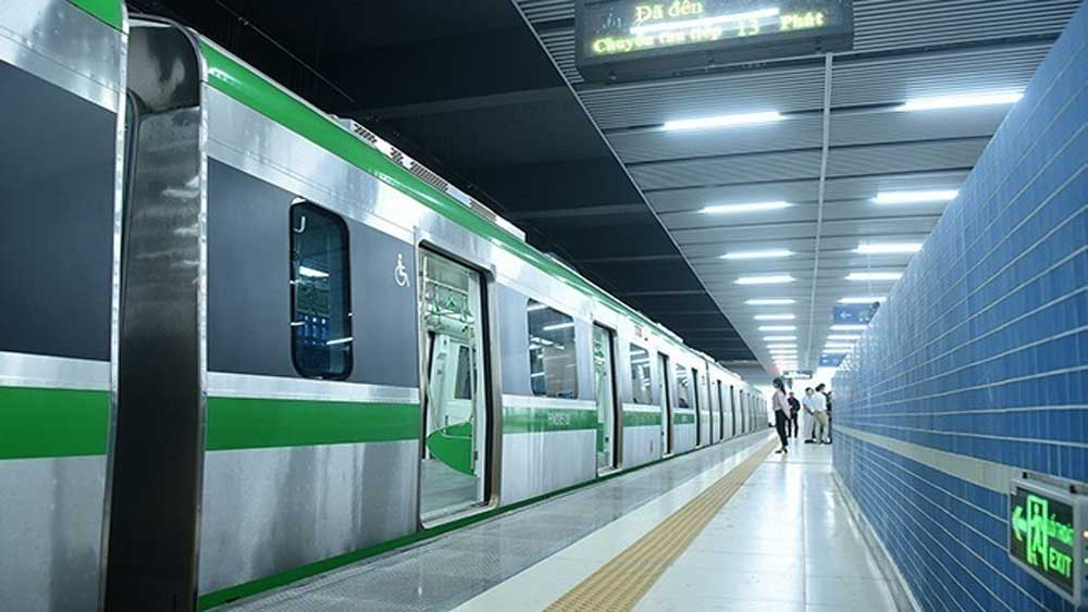 Hanoi, first metro, operate commercially, year-end, Chinese general contractor,  acceptance review, 13km Cat Linh - Ha Dong metro project,  Ministry of Transport