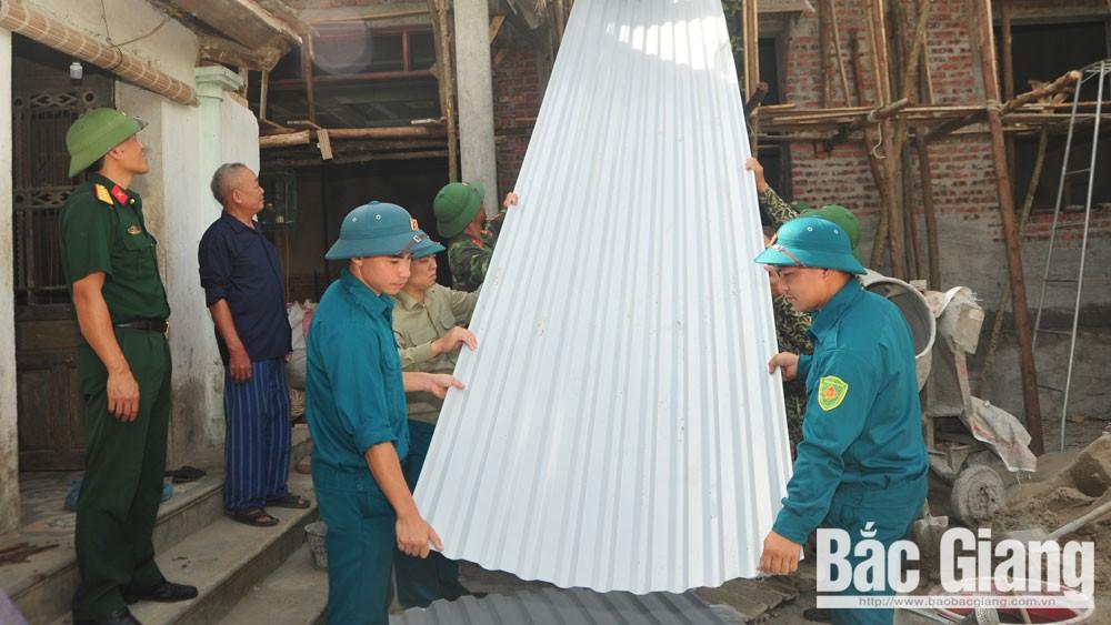 lực lượng vũ trang, Đảng uỷ Quân sự tỉnh Bắc Giang, tổ chức Đảng
